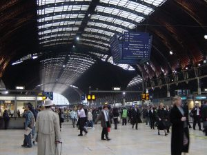 A picture of a station near Paddington, a place that utilises the local and emergency electricians at London Electricians