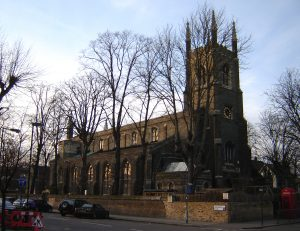 A picture of St Pauls Cathedral in Islington