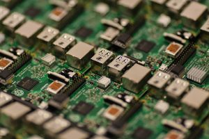 An image of a circuit board